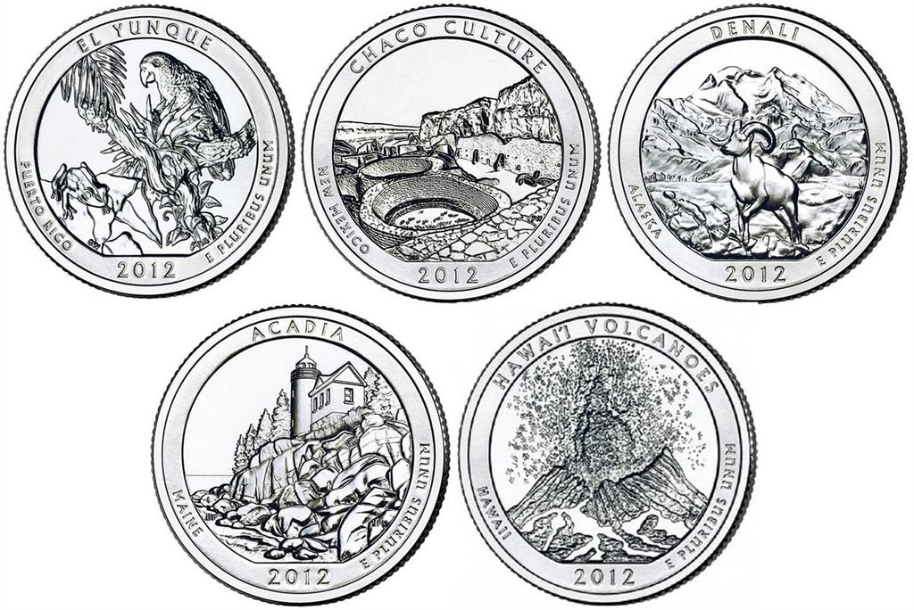 2012 National Park Quarters, Uncirculated