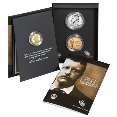 2013 Theodore Roosevelt Coin & Chronicle Set
