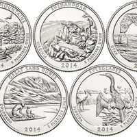 2014 National Park Quarters, Uncirculated