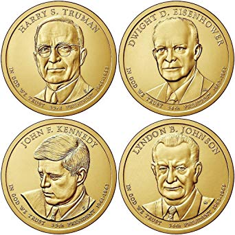 2015 Presidential Dollars, Uncirculated
