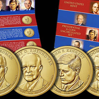 8-Coin President P & D Annual Mint Set