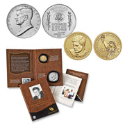 2015 John F. Kennedy Coin & Chronicle Set