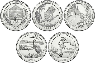 2015 National Park Quarters, Uncirculated