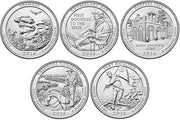 2016 National Park Quarters, Uncirculated