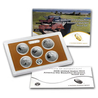 National Park 5-Coin Quarter Only PROOF Sets