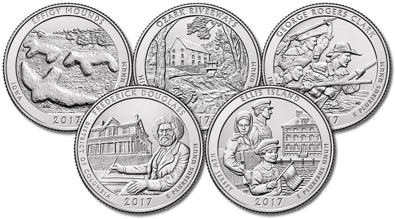 2017 National Park Quarters, Uncirculated