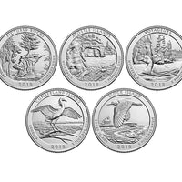 2018 National Park Quarters, Uncirculated