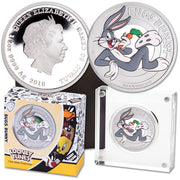 "2018 Tuvalu ""Bugs Bunny"" 1/2 Oz .999 Silver , World Coins"