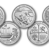 2019 National Park Quarters, Uncirculated