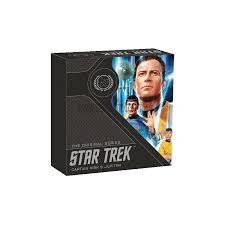"2019 Tuvalu ""Star Trek Captain Kirk"" 1 Oz .999 Silver , World Coins"