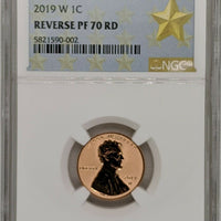 "2019 ""W"" West Point Lincoln Shield Cents"