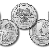 2020-W National Park Quarters, Uncirculated