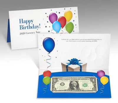 2020 Happy Birthday Currency Set