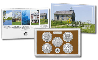 2020 Clad Quarter Proof Set
