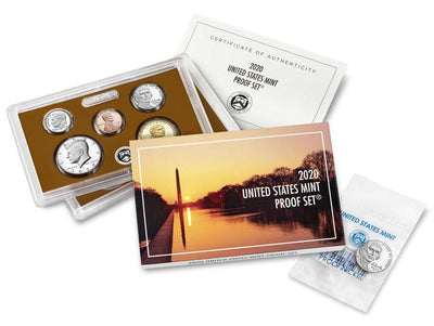 2020 Clad Proof Set with