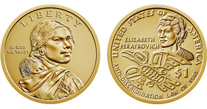 2020 Sacagawea Dollars, Uncirculated