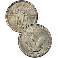 1917-S TYPE 2 Standing Liberty Quarter