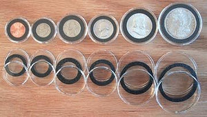 Air-Tite Snap-Together Coin Holders
