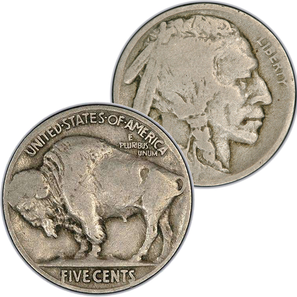 1924-S Buffalo Nickel