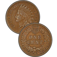 "1886 ""Type 2"" Indian Head Cent"