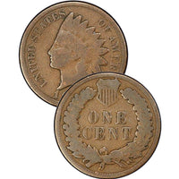 1866 Indian Head Cent
