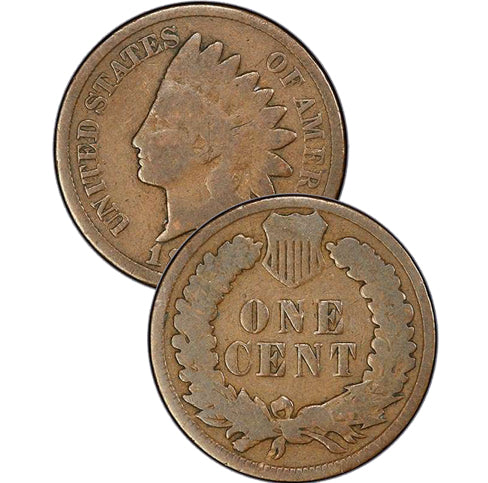 "1886 ""Type 1"" Indian Head Cent"