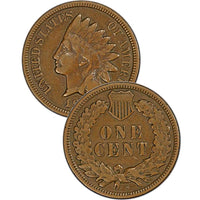 1875 Indian Head Cent