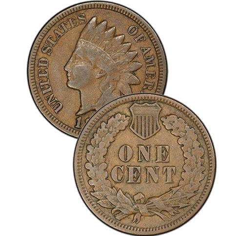 1884 Indian Head Cent