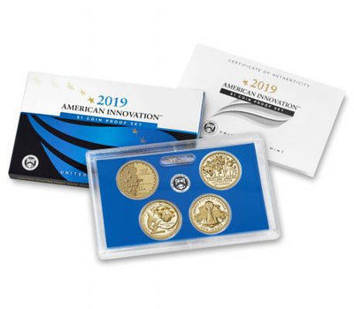 Innovation Dollars , 4-Coin Proof Set
