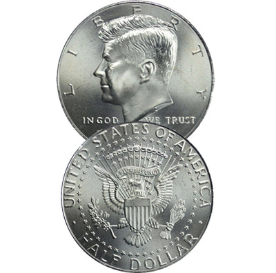 1990-2019 Kennedy Half Dollar, Uncirculated