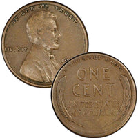 1928-S Lincoln Wheat Cent
