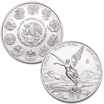 Mexico , Libertad Silver World Crowns