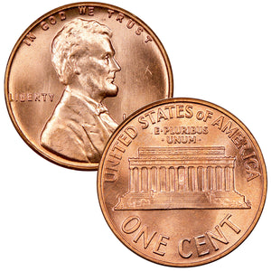 1982-2008 Lincoln Memorial Cent