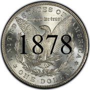 1878 (8 Tail Feathers) Morgan Silver Dollar