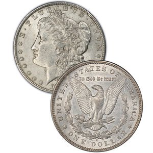 1898 Morgan Silver Dollar