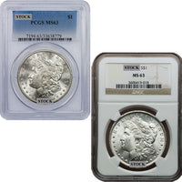 1889-CC Morgan Silver Dollar