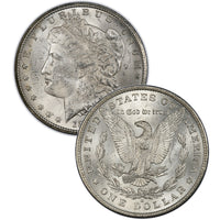 1895-O Morgan Silver Dollar