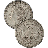 1880-CC Morgan Silver Dollar