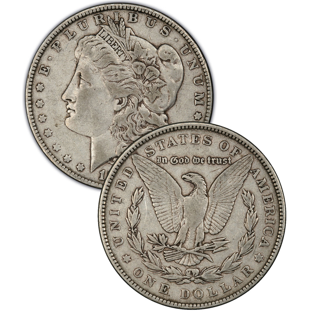 1889-S Morgan Silver Dollar