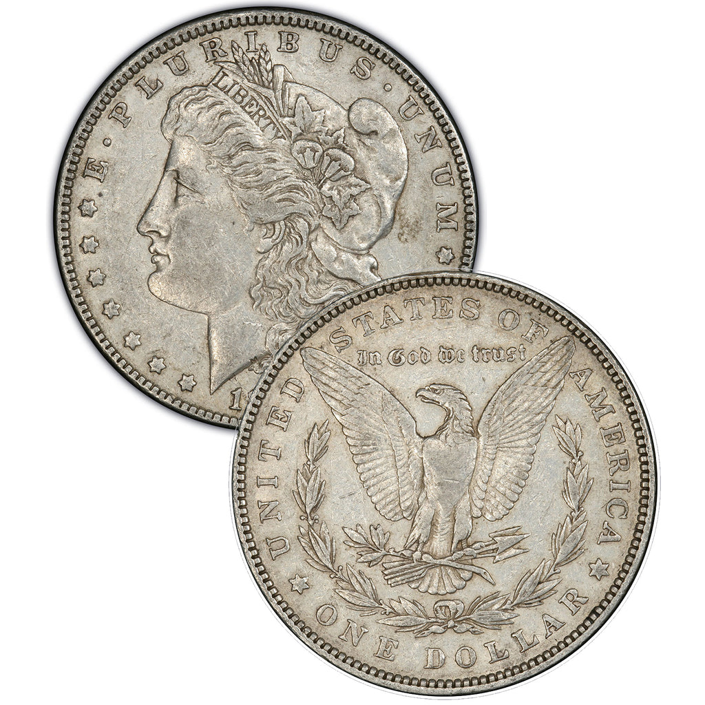 1878 (7 Tail Feathers - Reverse of '79) Morgan Silver Dollar
