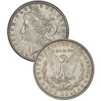 1878 (7 Tail Feathers - Reverse of '78) Morgan Silver Dollar