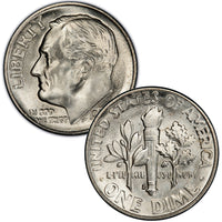 1946-1964 Roosevelt Dimes Uncirculated