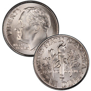 2000-2020 Roosevelt Dimes Uncirculated