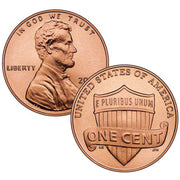 2010-2020 Lincoln Shield Cents