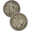 1923-S Standing Liberty Quarter (TYPICAL weak date)