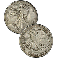 1933-S Walking Liberty Half Dollar