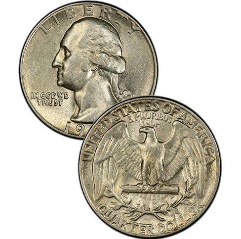 1940-1964 Washington Quarters AU