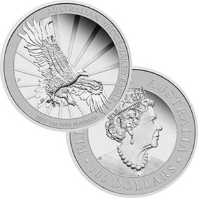 Australia , Wedge-Tail Eagle Silver World Crowns