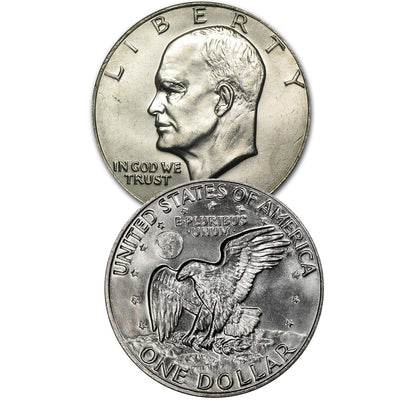 1971-1978 Eisenhower Dollars Uncirculated