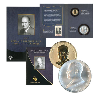 2015 Eisenhower Coin & Chronicle Set